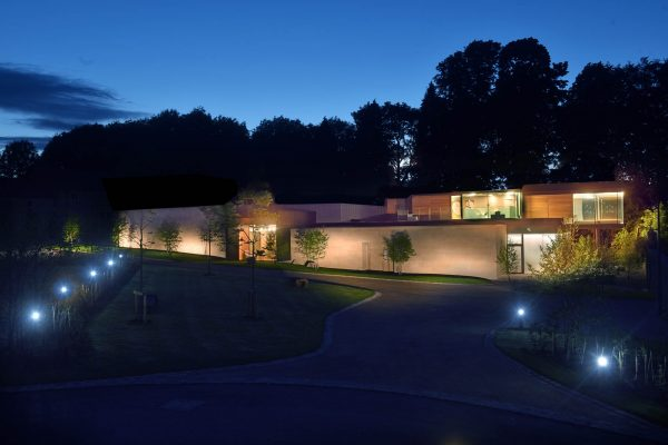 Avalon Wellbeing Centre Building at Night
