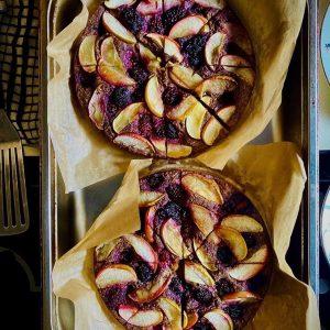 Delicious Ayurvedic Buckwheat Apple Skillet Cake for @jasmin...