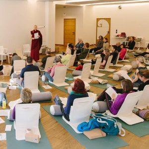 Fantastic Retreat & Workshops with Buddhist nun @emma_slade_...