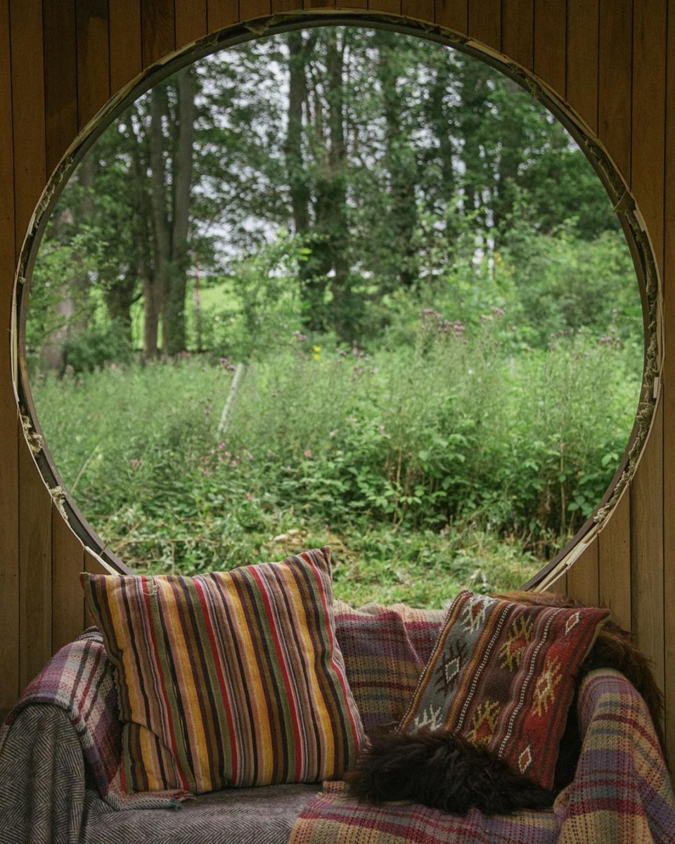 Unwind with the forest    Our Garden of Cosmic Origin encour...