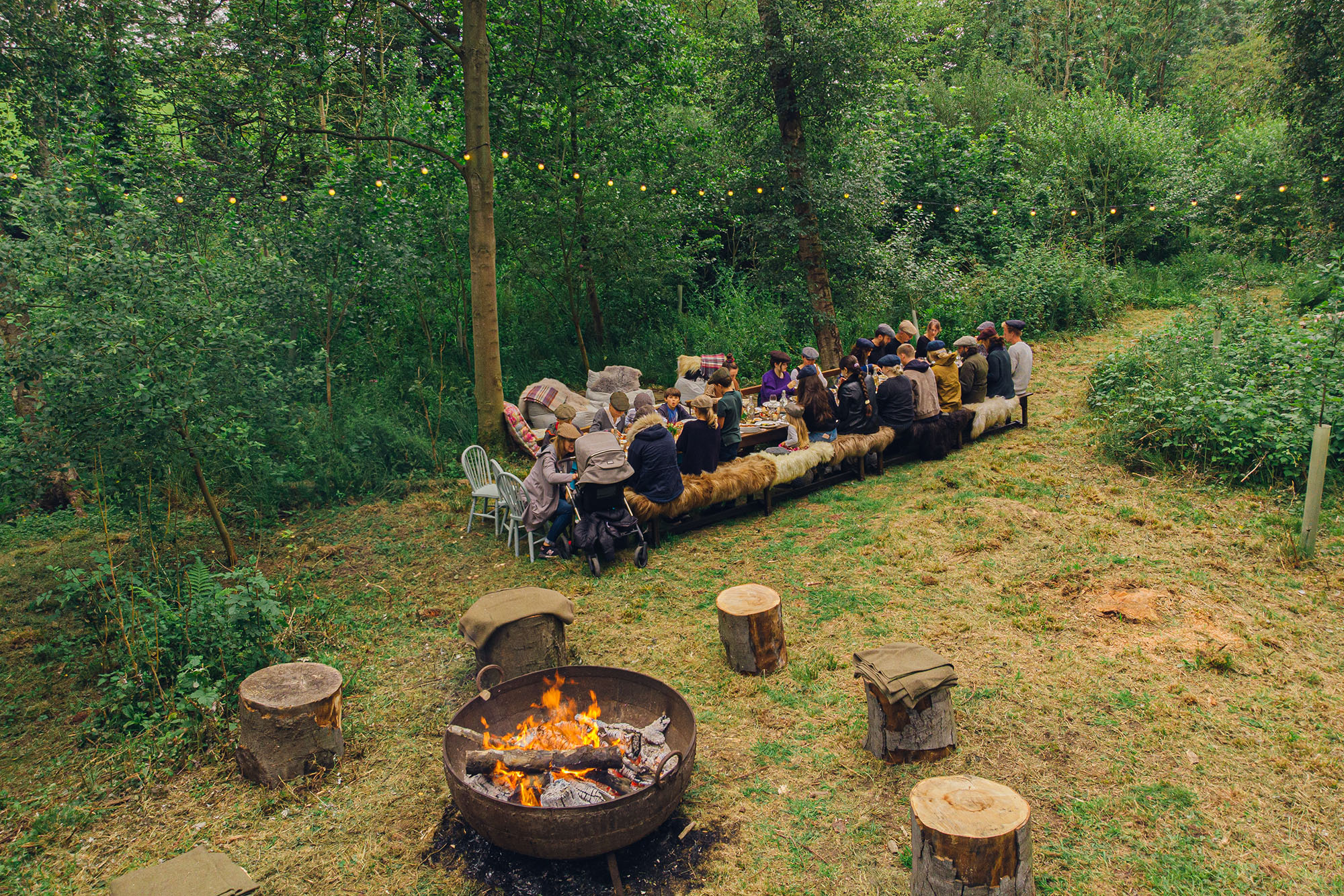 Avalon Utopia Outdoor Woodland Dining