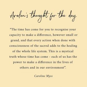 Beautiful words from Caroline Myss in the foreword to The Ho...