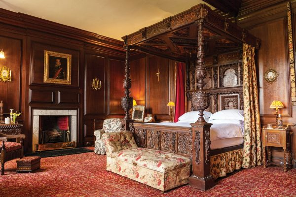 Broughton Hall House of Transformation Bedroom