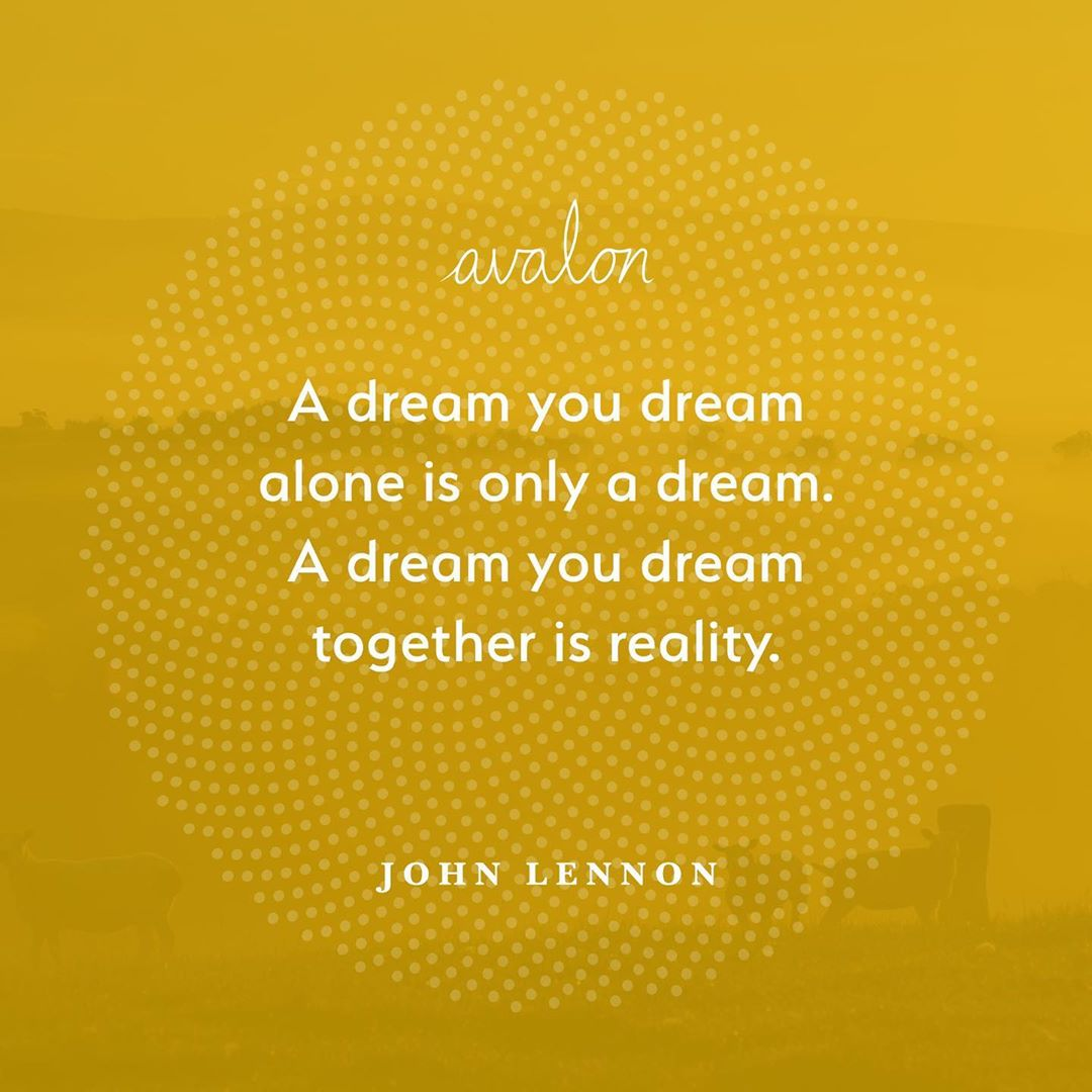 #johnlennon reminding us that we are all connected   In thes...